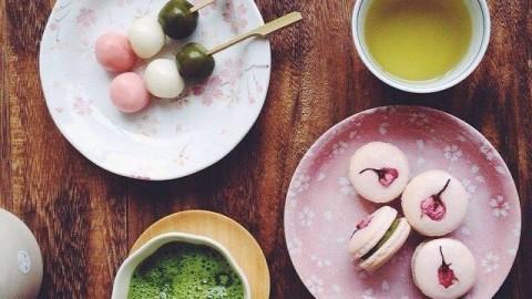 sakura-macaron