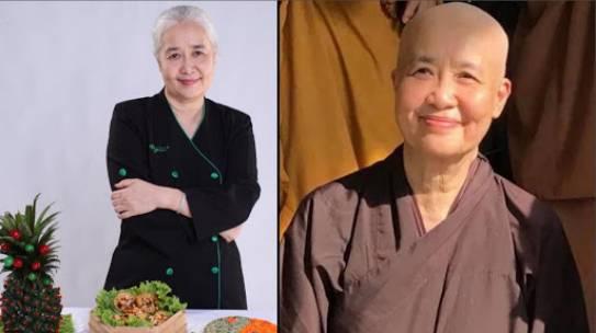 Thực hư chuyện chuyên gia ẩm thực Cẩm Vân qua đời sau một thời gian xuống tóc xuất gia