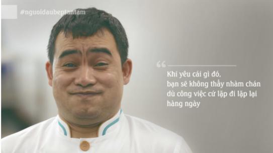 Chân dung người đầu bếp tận tâm được Viettel thưởng 100 triệu