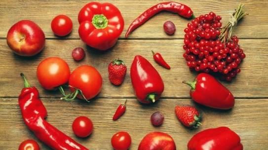 Bí mật dinh dưỡng trong các loại thực phẩm có màu đỏ