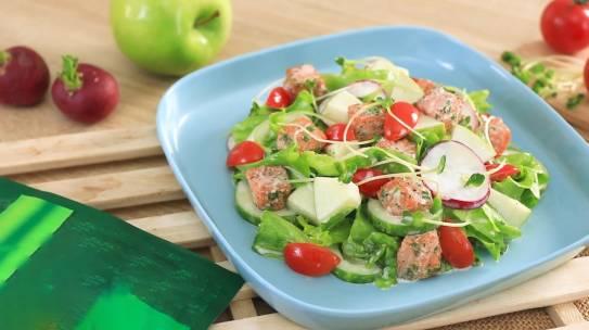 2 cách làm salad cá hồi nhiều dinh dưỡng mà lại Healthy