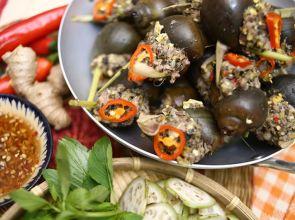 Cách làm ốc bươu nhồi thịt Đà Lạt nổi tiếng